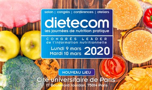 Retrouvez-nous à DIETECOM 2020