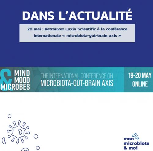 Ne manquez pas notre intervention lors du congrès Mind, Mood & Microbes